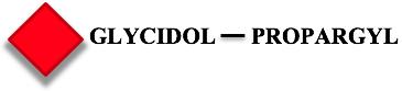 Glycidol-propargyl coated fluorescent nanodiamonds